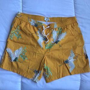 Modern Amusement men's swim trunks. Size med
